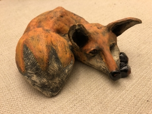 <p><strong>Kelly Coffey</strong></p><p><em>Red Fox</em></p><p><small>Ceramics</small></p><p><small>Cedar Bluff Elementary</small></p>