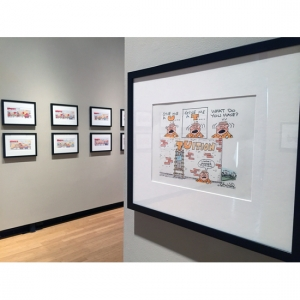You Call That Art!: an exhibition of editorial cartoons by Charlie Daniel